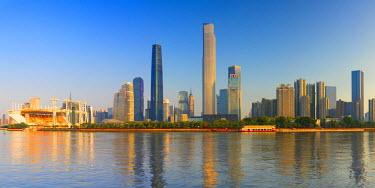 CH11147AW Skyline of Tianhe, Guangzhou, Guangdong, China