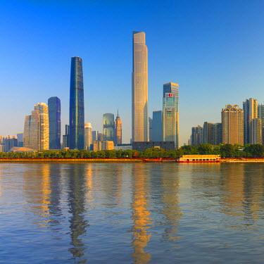 CH11148AW Skyline of Tianhe, Guangzhou, Guangdong, China