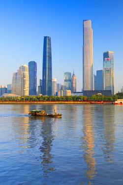 CH11149AW Skyline of Tianhe, Guangzhou, Guangdong, China