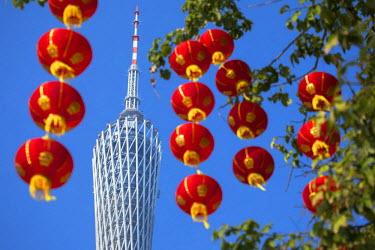 CH11154AW Canton Tower, Tianhe, Guangzhou, Guangdong, China