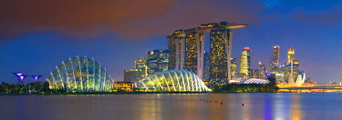 SNG1407AW Gardens by the Bay and Marina Bay Sands Hotel, Singapore