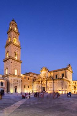 ITA10059AW Italy, Apulia, Lecce district, Salentine Peninsula, Salento, Lecce, Duomo square, the Cathedral.
