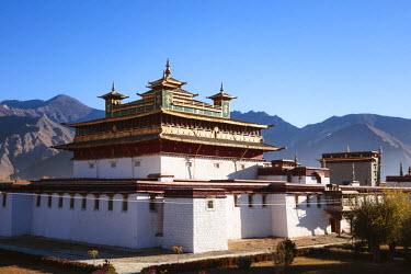 TIB0218AWRF Samye monastery, Tibet, China