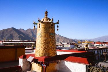 TIB0178AW Jokang temple, Lhasa, Tibet, China