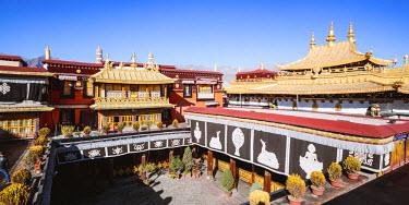 TIB0189AW Jokang temple, Lhasa, Tibet, China