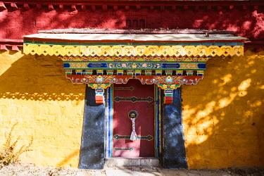 TIB0205AW Norbulingka summer palace, Lhasa, Tibet, China