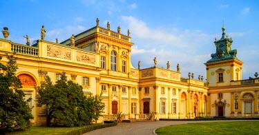 POL1690AW Poland, Masovian Voivodeship, Warsaw, Wilanow Palace