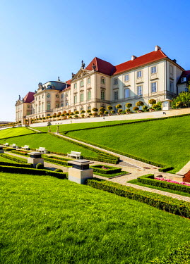 POL1692AW Poland, Masovian Voivodeship, Warsaw, Royal Castle eastern baroque facade