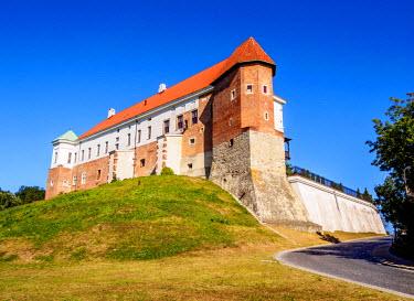 POL1855AW Poland, Swietokrzyskie Voivodeship, Sandomierz Castle