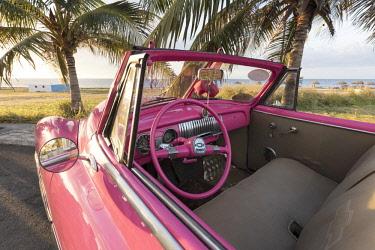 CUB1550AW Pink Chevrolet, Havana, Cuba