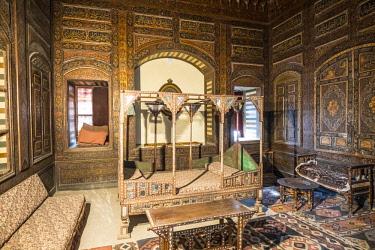 EG01455 Damascus room, Gayer Anderson Museum (17th century house), Islamic Cairo, Cairo, Egypt