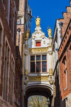 BEL1608AW Brugse Vrije building, Burg, Bruges, West Flanders, Belgium