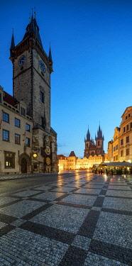CZE1705AW Europe, Czech Republic, Prague, Old Town Square