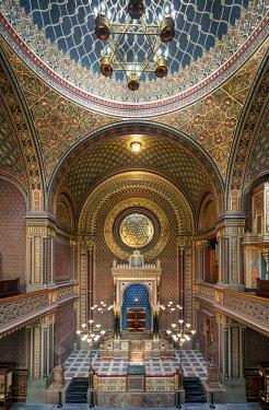 CZE1729AW Europe, Czech Republic, Prague, Spanish Synagogue