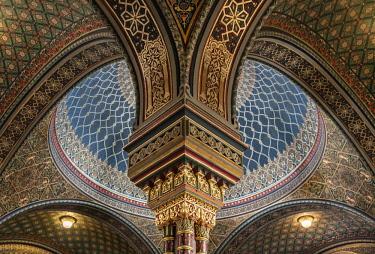 CZE1730AW Europe, Czech Republic, Prague, Spanish Synagogue