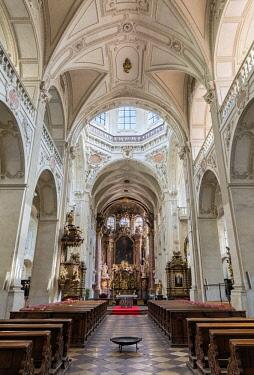 CZE1755AW Europe, Czech Republic, Prague, Church of the Holy Saviour