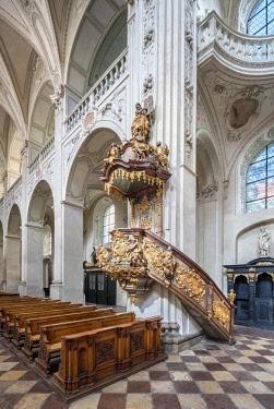 CZE1756AW Europe, Czech Republic, Prague, Church of the Holy Saviour