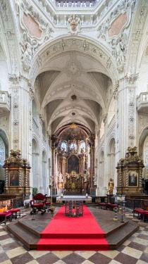 CZE1758AW Europe, Czech Republic, Prague, Church of the Holy Saviour