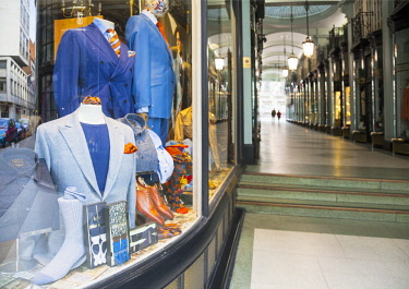 ENG14336 United Kingdom. England. London. Luxury clothes at one of the shopping malls in Regent Street.
