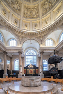 ENG14401AW Europe,United Kingdom, England, London, St Stephen Walbrook