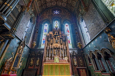 ENG14422AW Europe,United Kingdom, England, London, Pimlico, St Barnabas Church