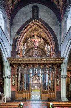 ENG14423AW Europe,United Kingdom, England, London, Pimlico, St Barnabas Church