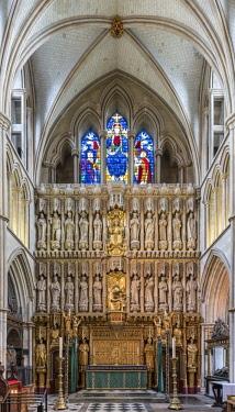 ENG14446AW Europe,United Kingdom, England, London, Southwark Cathedral