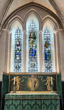 ENG14447AW Europe,United Kingdom, England, London, Southwark Cathedral