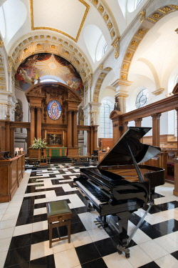 ENG14463AW Europe,United Kingdom, England, London, St Bride's Church Fleet Street