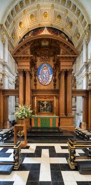 ENG14464AW Europe,United Kingdom, England, London, St Bride's Church Fleet Street