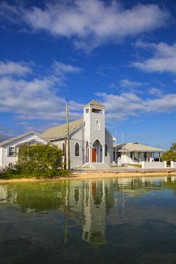 BA044RF Bahamas, Abaco Islands, Green Turtle Cay, New Plymouth, St Peter's Church