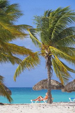 CB02631 Cuba, Isla de la Juventud, Cayo Largo Del Sur, Playa Sirena