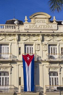 CB02696 Cuba, Havana, Parque Central, Hotel Inglaterra