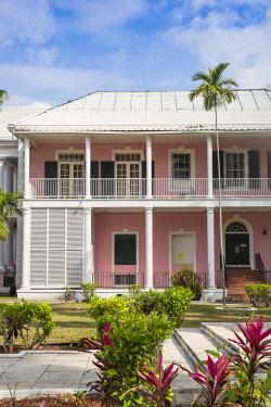 BA01433 Caribbean, Bahamas, Providence Island, Nassau, Parliment Square, Supreme Court