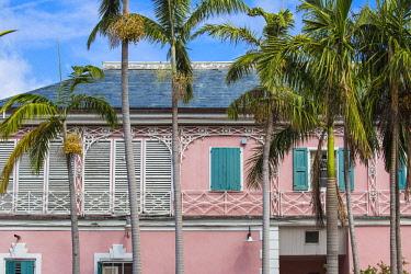BA01439 Caribbean, Bahamas, Providence Island, Nassau, Parliment Square, Supreme Court