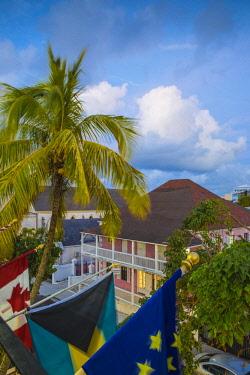 BA01143 Caribbean, Bahamas, Providence Island, Nassau, Ministry of Tourism building