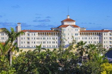 BA01146 Caribbean, Bahamas, Providence Island, Nassau, British Colonial Hilton Hotel