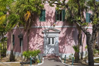 BA01150 Caribbean, Bahamas, Providence Island, Nassau, Public libary