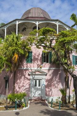 BA01151 Caribbean, Bahamas, Providence Island, Nassau, Public libary