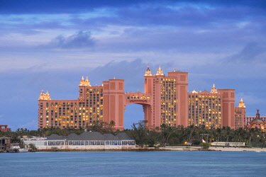 BA01155 Caribbean, Bahamas, Nassau, Paradise Island, Atlantis resort