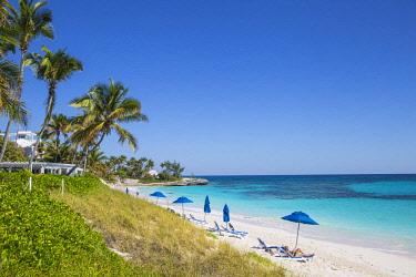 BA01160 Bahamas, Abaco Islands, Elbow Cay, Hope Town, Hope Town beach
