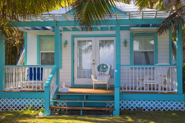 BA01184 Bahamas, Abaco Islands, Elbow Cay, Hope Town, Hope Town Island Lodge Hotel