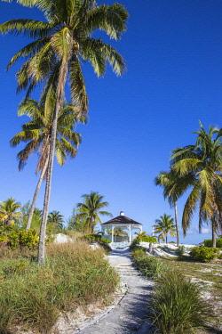 BA01299 Bahamas, Abaco Islands, Great Abaco, Beach at Treasure Cay