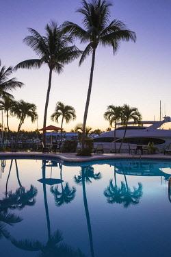 BA01306 Bahamas, Abaco Islands, Great Abaco, Treasure Cay, Treasure Cay Beach, Marina & Golf Resort