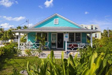 BA01211 Bahamas, Abaco Islands, Elbow Cay, Hope Town, The Jib