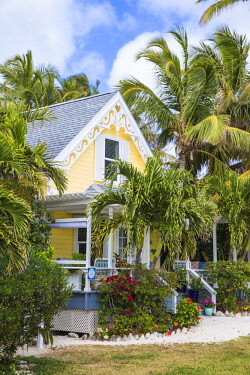 BA01231 Bahamas, Abaco Islands, Elbow Cay, Hope Town,