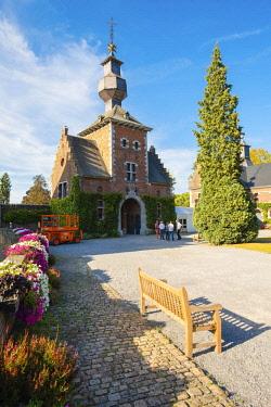 BEL1738AW Belgium, Waloon Region (Wallonia), Liege Province. Chateau de Jehay Castle.