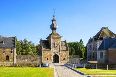 BEL1787AWRF Belgium, Waloon Region (Wallonia), Liege Province. Chateau de Jehay Castle.