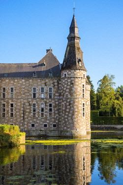 BEL1790AWRF Belgium, Waloon Region (Wallonia), Liege Province. Chateau de Jehay Castle.