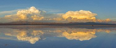 BOL8648AW South America, Andes, Altiplano, Bolivia, Salar de Uyuni